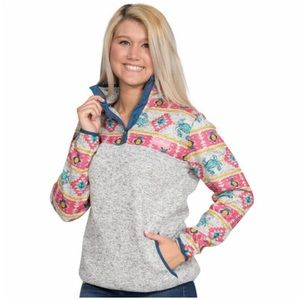 🎀 Simply Southern Knit  Pullover Crab Pineapple